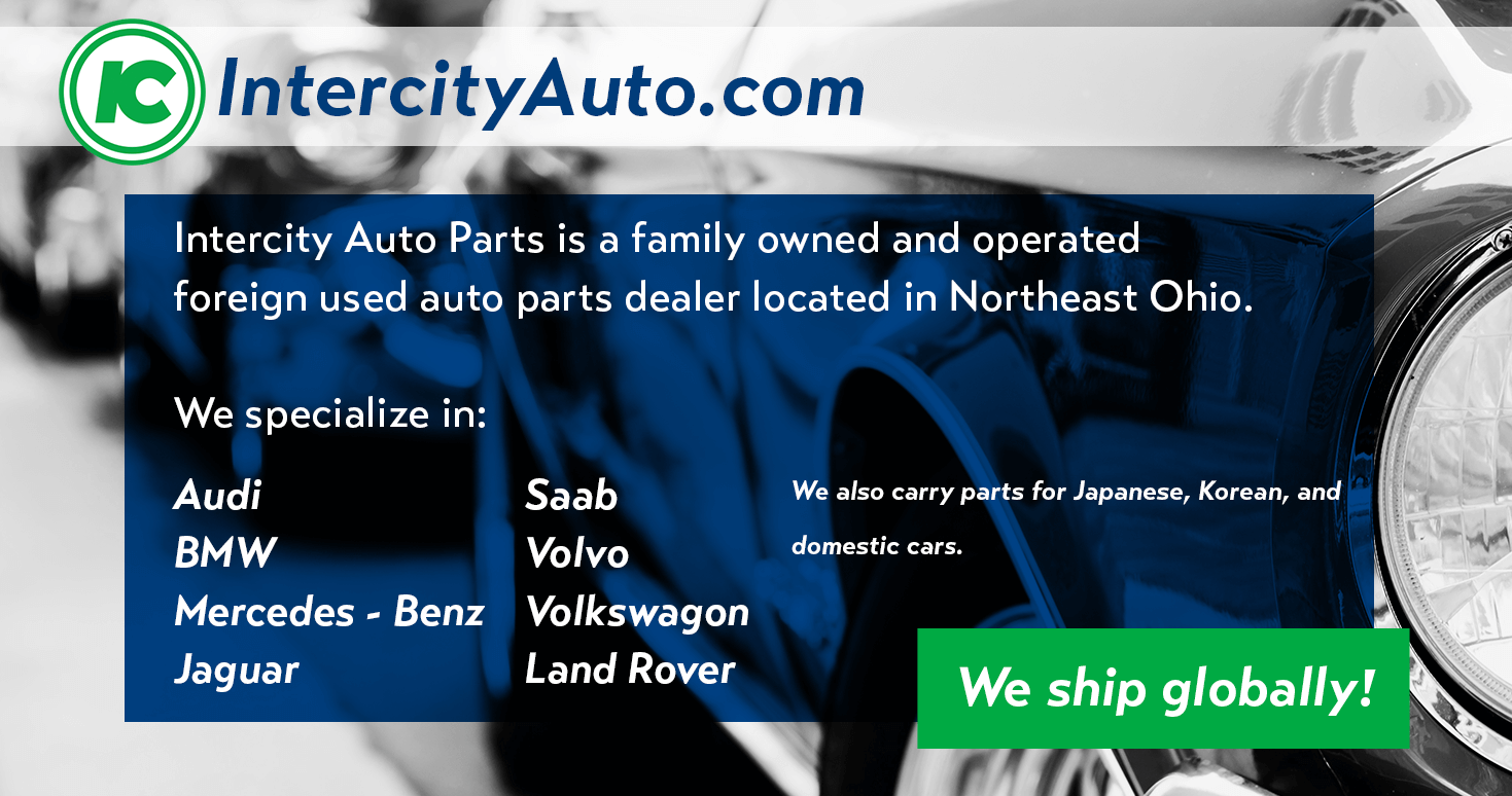 Intercity Auto Parts – Foreign car used parts specialists, serving ...